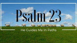 He Guides Me In Paths